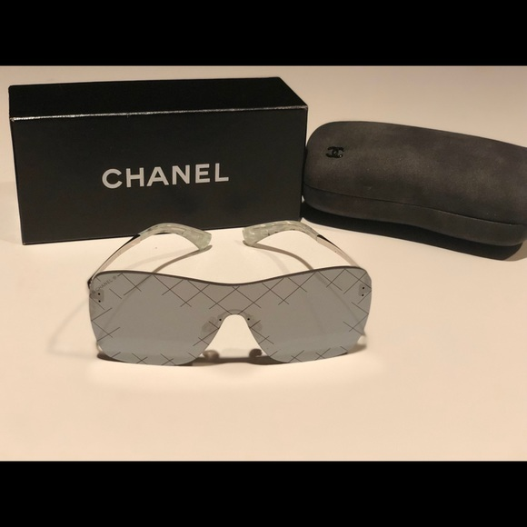 4a692cf20c9f CHANEL Accessories - CHANEL Shield Sunglasses